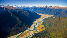 Haast Pass Route Images