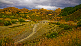 Inland Kaikoura Road Images
