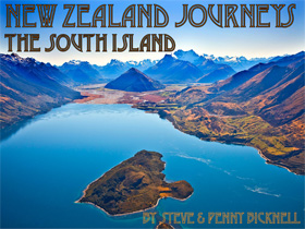 New Zealand Journeys App, South Island